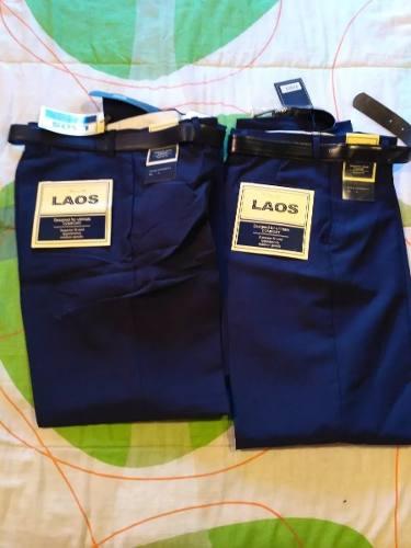 Pantalon Escolar Tallas 4, 6 Y 12