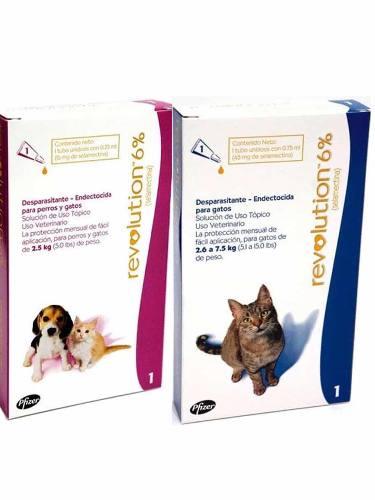 Pipetas Antipulgas Para Gato Hasta 2.5 Kg Rosada Y Azul 7.5