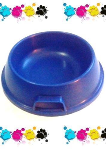 Plato Comedero Azul Perros Gatos Mascotas 4tzs.. Usado