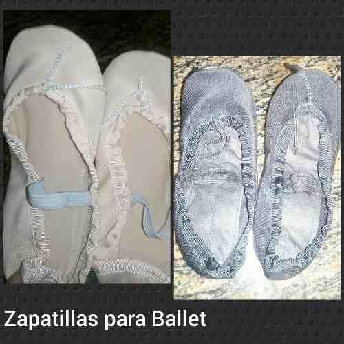 Zapatillas Media Punta De Ballet/danza Excelente Calidad
