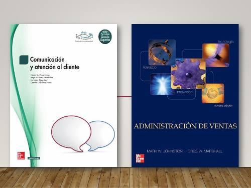 4 Libros De Ventas, Atención Al Cliente, Comunicaciones Pdf