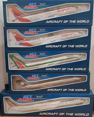 Aviones Escala Skymarks Avianca Alitalia