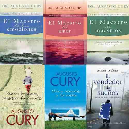 Colección De 6 Libros Digitales De Augusto Cury Pdf
