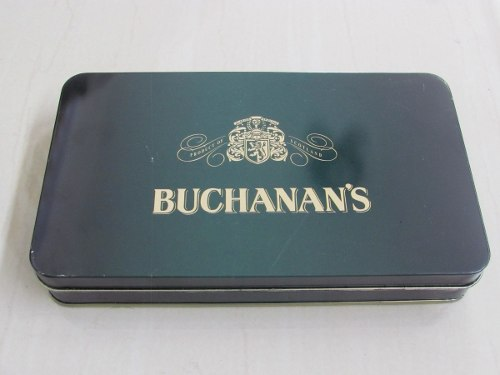 Dominó Buchanan´s / Estuche De Metal