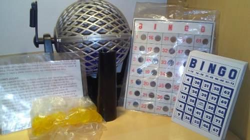 Juego De Mesa Bingo, Usado En Excelentes Condiciones