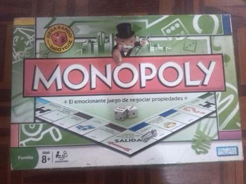 Juego De Mesa Monopolio Original.