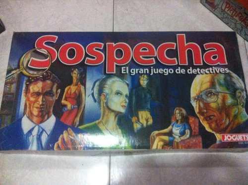Juegos De Mesa Varios, Sospecha, Pictureka, Quien Sabe Mas?