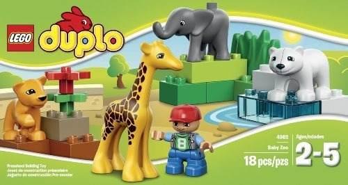 Lego Duplo Baby Zoo  Piezas, Para Niños De 2 A 5