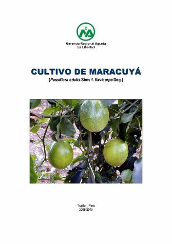 Manual De Cultivo De La Parchita Envio Inmediato Pdf Word