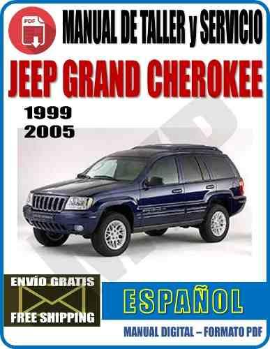 Manual De Taller Y Servicio Jeep Grand Cherokee Wj