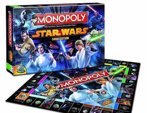 Monopolio Star Wars Original Saga Edition Hasbro Limitado
