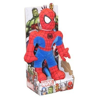 Peluches Avengers. Spiderman, Iro Man Y Capitan America