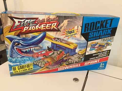 Pista De Carro Rocket Shark Oferta