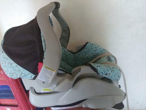 Porta Bebe Con Base Para Carro Marca Graco