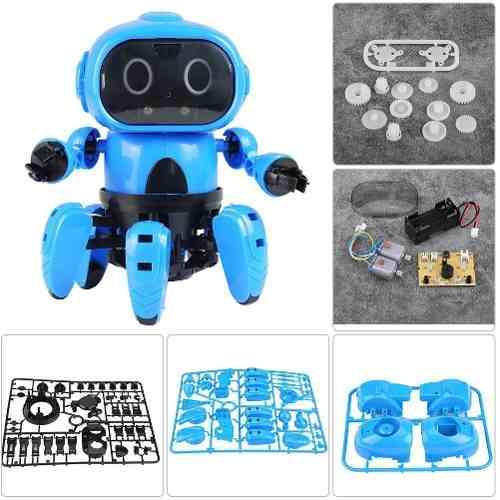 Robot Didactico Para Armar Camina Tiene Sensor Infrarojo