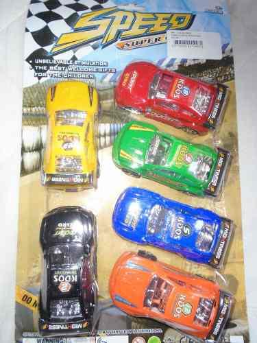 Set De 5 Carros Para Niños Juguete Carritos