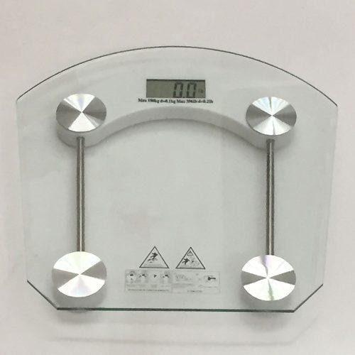 Balanza Digital Personal Peso D Baño Vidrio Seguridad 180kg