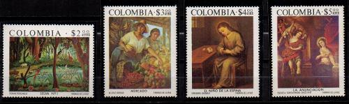 Estampillas Colombia  Serie Completa Nuevas