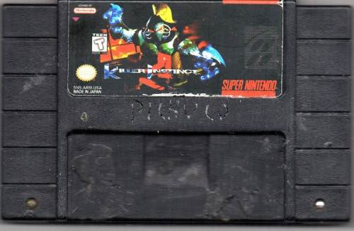 Killer Instinct.super Nintendo Video Juego Original Usado M5