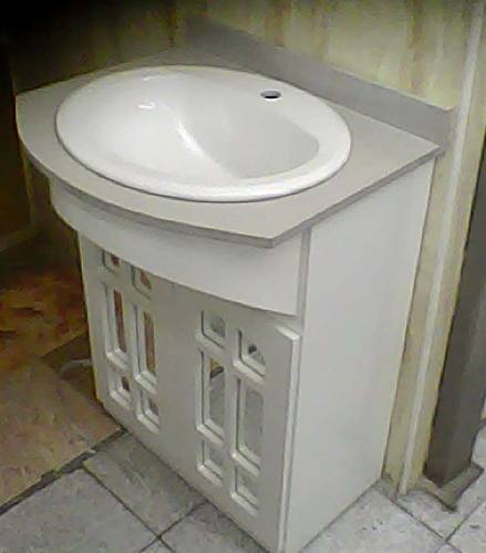 Mueble De Baño Moderno. Lavamanos. Base Baño Blanco