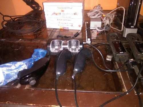 Nintendo Wii Con Sus Accesorios Sin Chipear