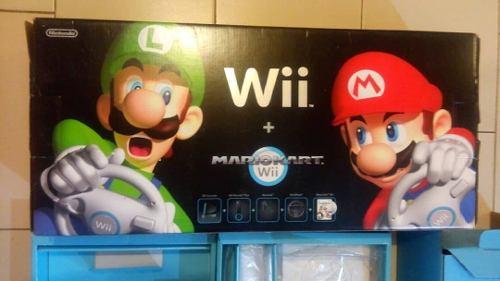Nintendo Wii Mario Kart Original Juegos Y Accesorios