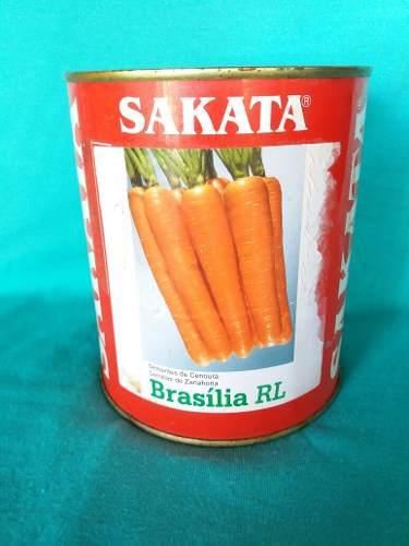Semillas De Zanahoria Lata De 250 Gr