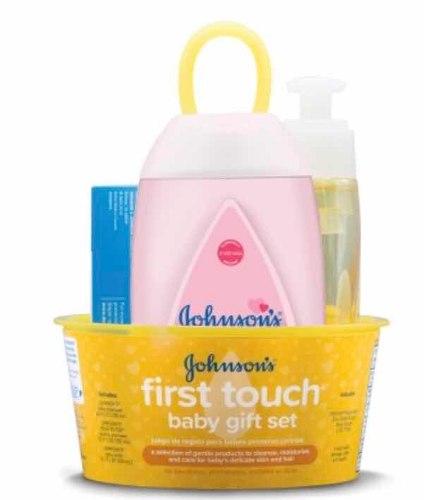 Set De Baño Johnson Baby First Touch