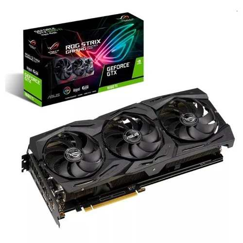 Tarjeta De Video Asus Geforce Gtx  Ti 6gb Ddr6 Rog Strix