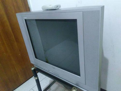 Televisor Tv Convencional De 21 Marca Lg Con Control Remoto