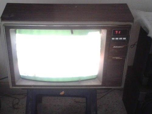 Tv Antiguo Marca Admiral 19 Pulgadas A Color