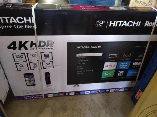 Tv Hitachi De 49 Pulgada 4k