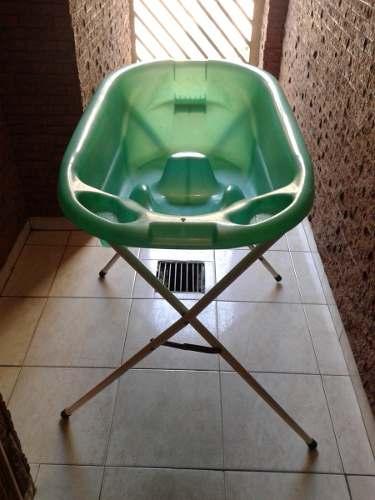 Vendo Excelente Bañera Con Pedestal Para Bebes, Usada.