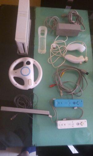 Wii Nintendo Con Accesorios