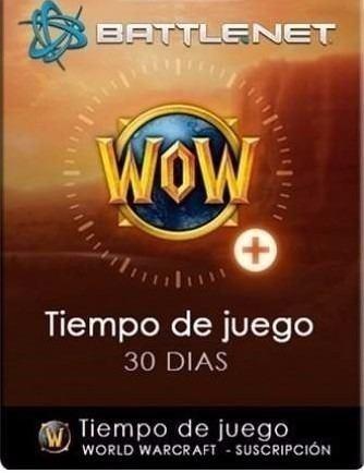 Wow Token, 30 Días De Tiempo De Juego World Of Warcraft