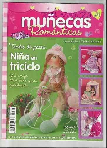 10 Revistas Colección Muñecas De Tela Pack2