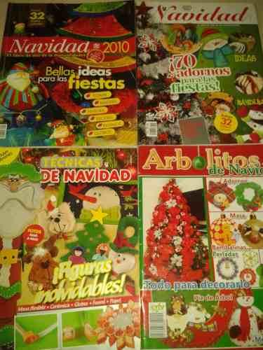 7 Revistas De Manualidades Navideñas (con Patrones)