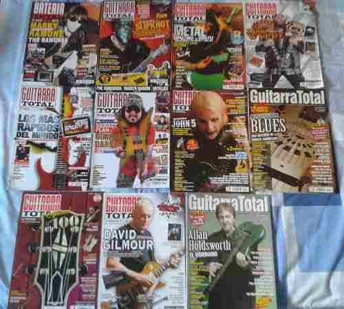 Lote De Revista Guitarra Total