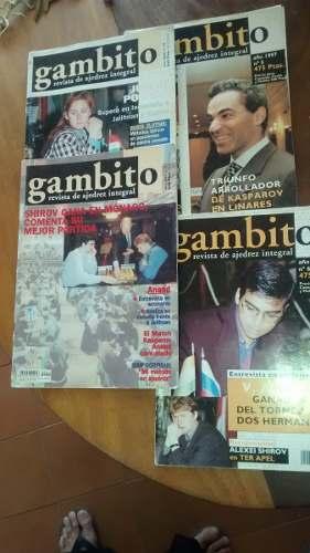 Oferta Revista De Ajedrez Gambito Y Peón Rey De España.