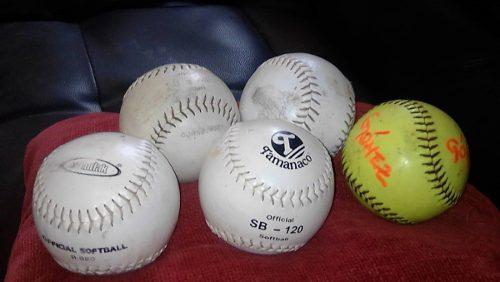 Pelota De Softbol Usadas