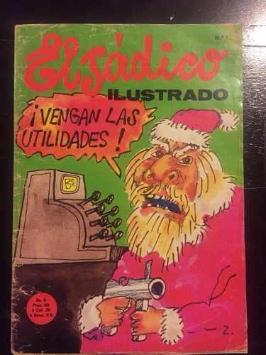 Revista El Sadico Ilustrado #12 Pedro Leon Zapata