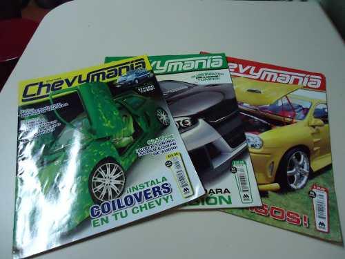 Revistas De Colección De Chevymania - Curvas