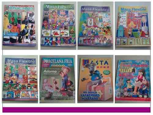 Revistas De Manualidades Telar Bisuteria Y Más (lote De 61)