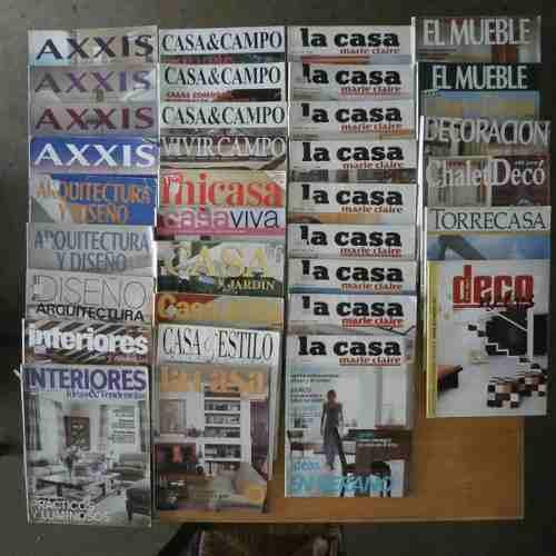 Revistas Lote Arquitectura, Diseño Y Decoración