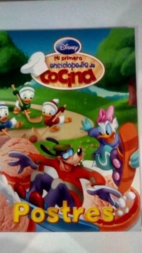 Revistas Mi Primera Enciclopedia De Cocina De Disney