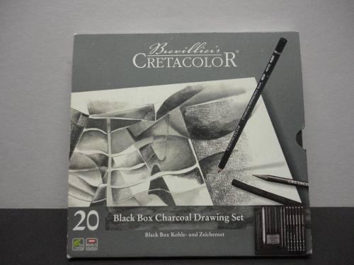 Set De Carboncillo Black Box Cretacolor