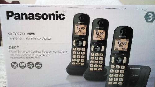 Telefono Panasonic Inalambrico Kxtgc213