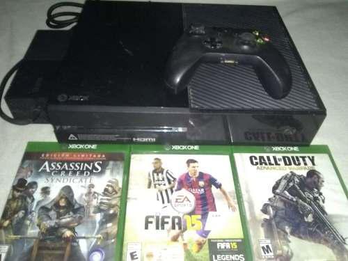 Vendo Xbox One+1 Control+3 Juegos