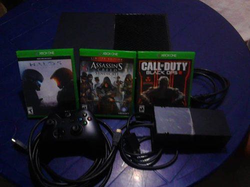 Xbox One 1 Control 3 Juegos Perfecto Estado