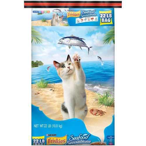 55gatarina Alimento P/gatos Friskies Seafood Sensations 10k